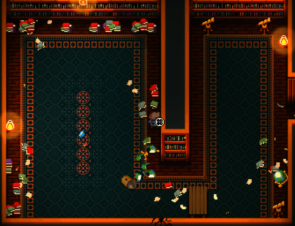enter the gungeon character in large hall to discover all the hidden unlockables