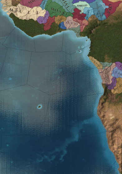 Colonial Ivory Coast in the game Europa Universalis 4 in guide to Best Regions to Colonize RANKED