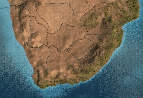 Colonial South Africa in the game Europa Universalis 4